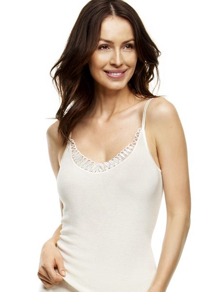 Camisole 2576 met kant