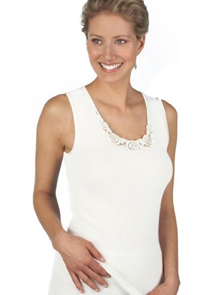 Dames hemd 1187 zonder mouw