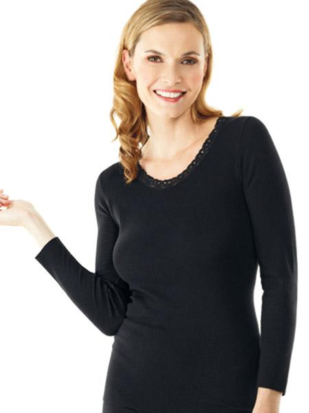 Dames hemd 1165 lange mouw
